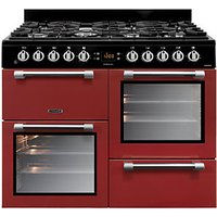 Leisure Cookmaster 100cm Dual Fuel Range Cooker - Red