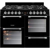 Leisure Cookmaster 100cm Gas Range Cooker - Black