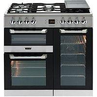 Leisure Cuisinemaster 90cm Dual Fuel Range Cooker - Stainless Steel