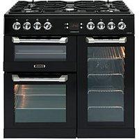 Leisure Cuisinemaster 90cm Dual Fuel Range Cooker - Black