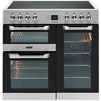 Leisure Cuisinemaster 90cm Electric Range Cooker - Stainless Steel