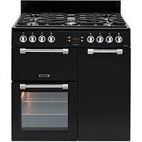 Leisure Cookmaster 90cm Dual Fuel Range Cooker - Black