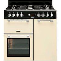 Leisure Cookmaster 90cm Dual Fuel Range Cooker - Cream