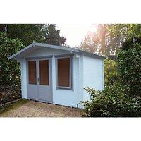Shire 11 X 10 Ft Berryfield Double Door Garden Log Cabin