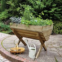 Forest Garden Kitchen Garden Trough - 870mm x 1m