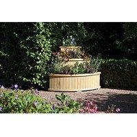 Rowlinson Marberry Corner Cascade Planter - 850 x 950mm