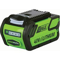 Greenworks Sanyo 40V 4AH Battery.