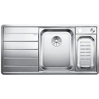 Blanco Axis 1.5 Bowl Left Hand Stainless Steel Kitchen Sink.