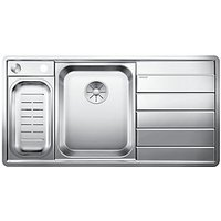 Blanco Axis 1.5 Bowl Right Hand Stainless Steel Kitchen Sink - Stainless Steel.