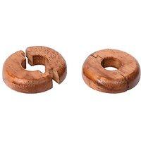 Vitrex Real Wood Pipe Surrounds Medium Oak - Pack of 2