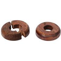 Vitrex Real Wood Pipe Surrounds Dark Oak - Pack of 2