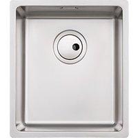 Abode Matrix 1 Bowl Medium Stainless Steel Kitchen Sink