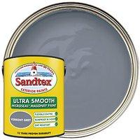 Sandtex Ultra Smooth Masonry Paint - Vermont Grey 5L