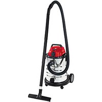 Einhell TE-VC 1930 SA 30 Litre Stainless Steel Wet & Dry Vac with Power Take Off - 1500W.