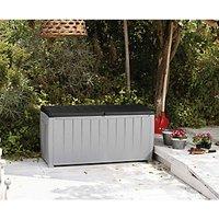 'Keter Novel Deluxe Outdoor Storage Deck Box - Graphite
