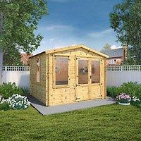 Mercia 3.3 x 3m 19mm Log Thickness Log Cabin