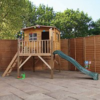 Mercia Rose Tower Playhouse and Slide