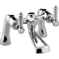Bristan Renaissance Lever Chrome Bath Filler Tap