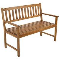 Charles Bentley FSC Acacia 2-3 Seater Wooden Garden Bench