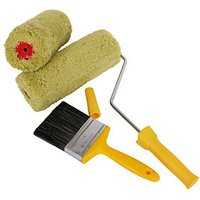 ProDec Twin Masonry Paint Roller and Brush Pack