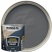 Ronseal Ultimate Protection Charcoal Decking Paint - 2.5L