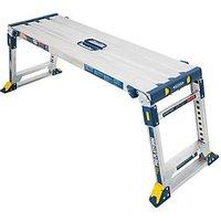 Werner Aluminium Adjustable Height Professional Work Platform.