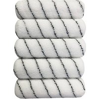 Wickes Professional Finish Medium Pile Rollers 9in - Pack of 5.
