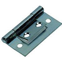 Wickes Flush Hinge - Zinc 38mm Pack of 2