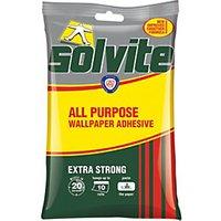 Solvite All Purpose Wallpaper Paste - 10 Roll.