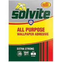 Solvite All Purpose Wallpaper Paste - 20 Roll.