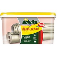 Solvite Ready to Use Wallpaper Paste - 5 Roll.