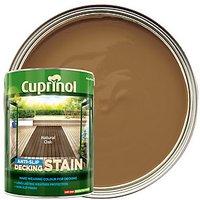 Cuprinol Anti-Slip Decking Stain - Natural Oak 5L