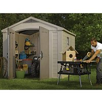 Keter Plastic Factor Shed - 8 x 11 ft
