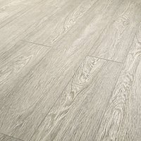 Wickes Novara Grey Laminate Flooring - 1.73m2 Pack