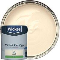 Wickes Magnolia - No. 310 Vinyl Silk Emulsion Paint - 5L