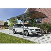 Palram Canopia 5010 x 2910mm Vitoria Polycarbonate Freestanding Carport - Grey