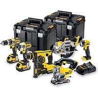 DEWALT DCK699M3T-GB 18V 4.0Ah Xr Brushless Cordless 6 Piece Power Tool Set