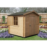 Shire Camelot 10 x 10ft Log Cabin-Style Shed