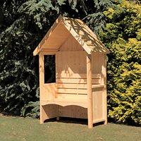 Wickes Forget Me Not Garden Arbour - 1250 x 670 mm