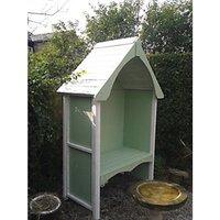 Wickes Balsam Garden Arbour - 1240 x 650 mm