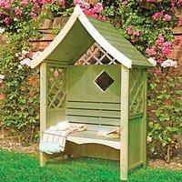 Shire Rose Trellis Garden Arbour - 1240 x 650 mm