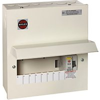 Wylex 8 Way RCD Comsumer Unit with 100A RCD.