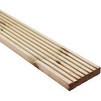 Wickes Premium Deck Board 28mm x 140mm x 3.6m.