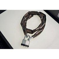 Wickes Laminated Padlock & Chain PVC Coated - 40mm.