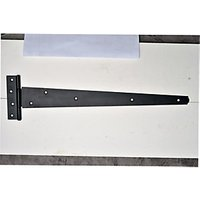 Wickes Medium Duty Tee Hinge - Black Japanned 450mm