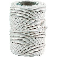 Wickes General Purpose White Cotton Twine - 30m.