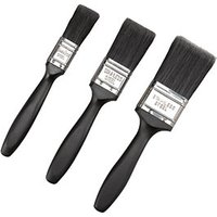 Wickes All Purpose Mixed Size Paint Brushes - Pack of 3
