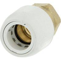 Hep2O HX28 22WS Brass Adaptor Female Socket   3 4in x 22mm