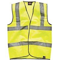 Bunzl Uk High Visibility Yellow Waistcoat XL EN471