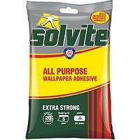 Solvite All Purpose Wallpaper Paste - 5 Roll.